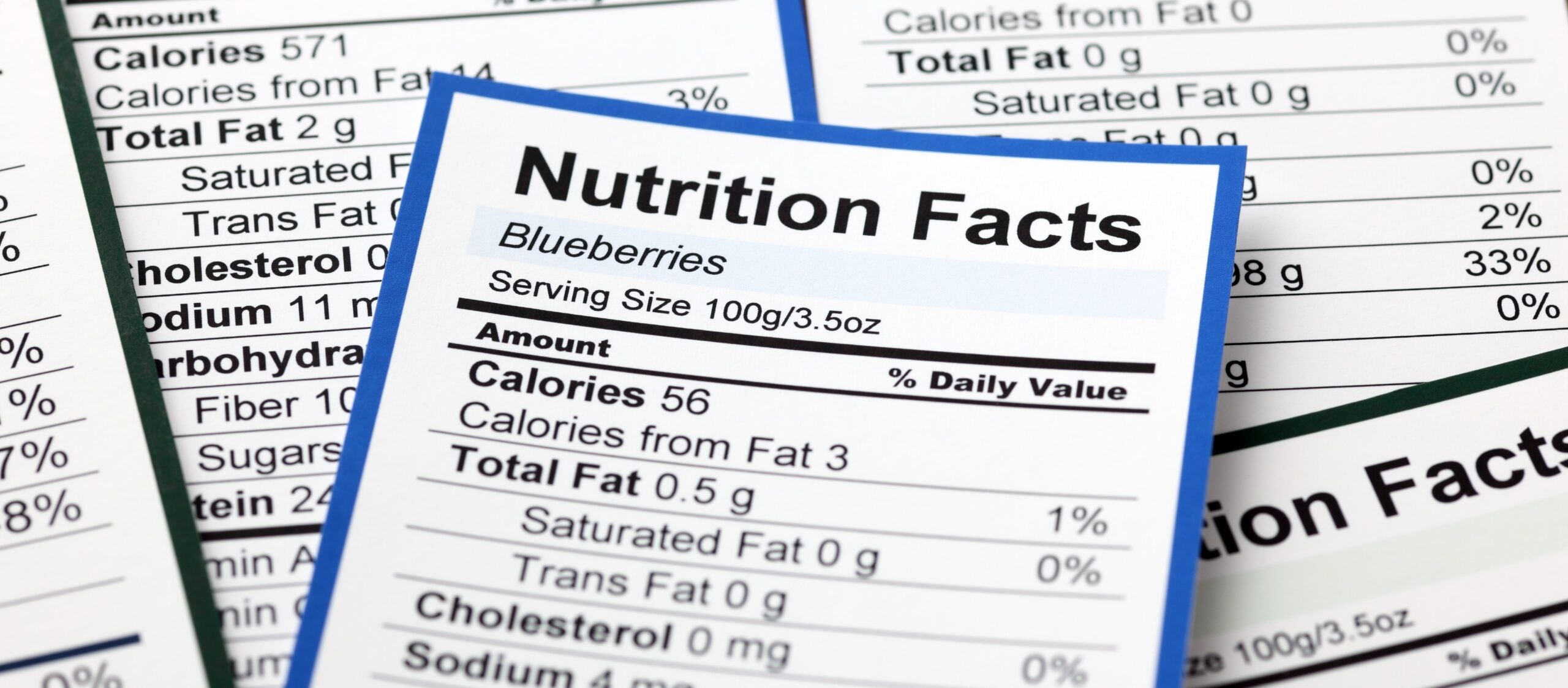 Nutrition Facts Panel Updates
