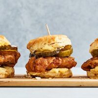 Buttery Spread Delicious Use_Background Photo (Honey - Fried Chicken Biscuit Slider2676